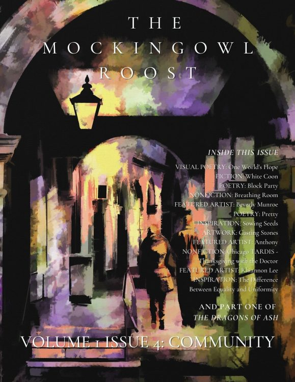 cover image of the MockingOwl Roost, Volume 1, Issue 4: Community